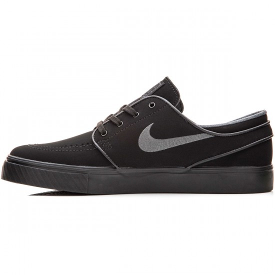 Nike Zoom Stefan Janoski Shoes - Black/Anthracite - 10.0