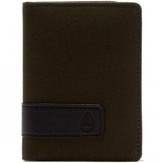 Nixon Showup Card Wallet - Olive