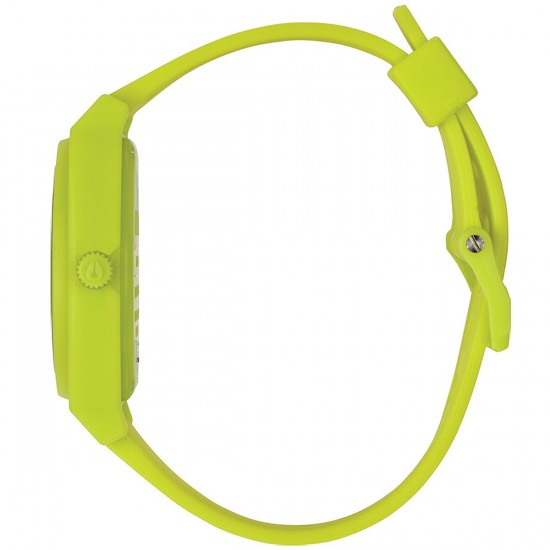 Nixon Time Teller P Watch - Neon Yellow