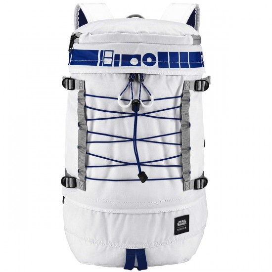 Nixon X Star Wars Drum Backpack - R2D2 White