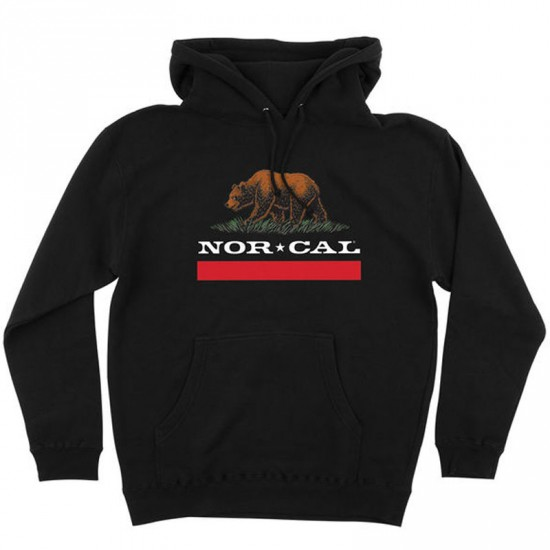 Nor Cal New Republic Pullover Hoodie - Black