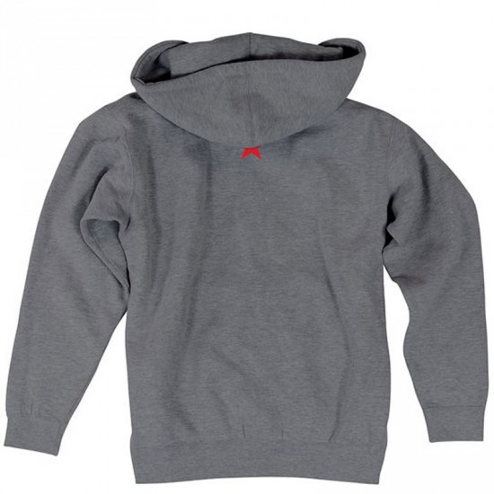 Nor Cal New Republic Pullover Hoodie - Gunmetal Heather