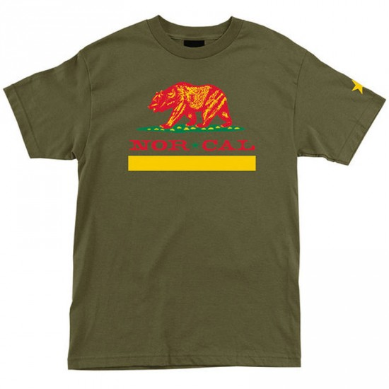 Nor Cal Other Republic T-Shirt - Military Green