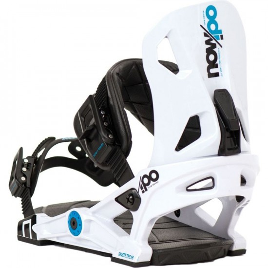 Now IPO Snowboard Bindings 2017 - White