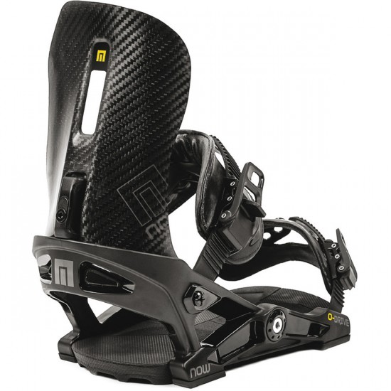 Now Overdrive Snowboard Bindings 2015 - Black
