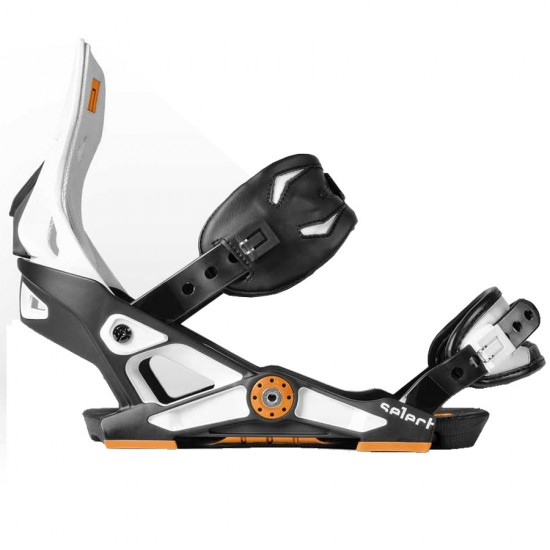 Now Select Snowboard Bindings 2014 - Black / White