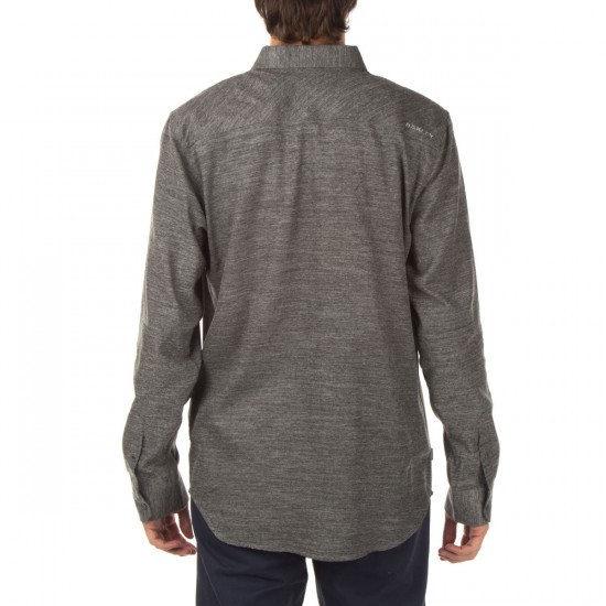 Oakley Altitude Flannel Shirt - Heather Grey