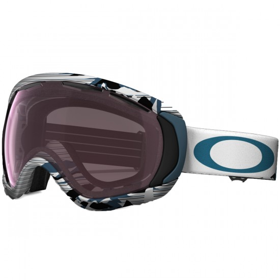 Oakley Canopy Snowboard Goggles 2015 - High Country Blue - Prizm Rose