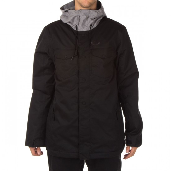 Oakley Charlie 2 Biozone Insulated Jacket - Jet Black