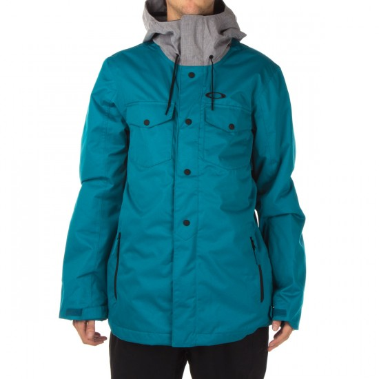Oakley Division 2 Biozone Insulated Jacket - Aurora Blue