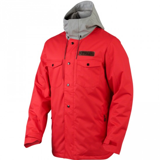 Oakley Division Insulated Jacket 2015 - Red Line