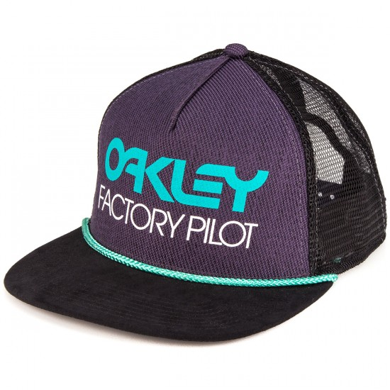Oakley Factory Pilot Trucker Hat - Purple Shade