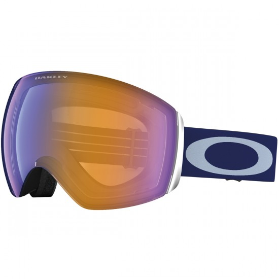 Oakley Flight Deck Snowboard Goggles 2015 - Peacoat - Blue Iridium