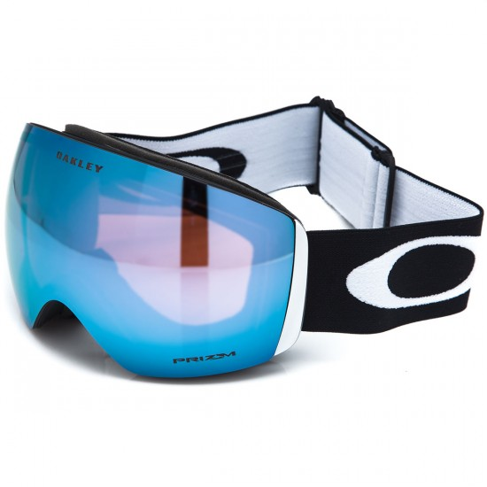 Oakley Flight Deck Snowboard Goggles - Matte Black with Prizm Saphire Iridium
