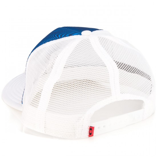 Oakley Graphic Foam Trucker Hat - Electric Blue