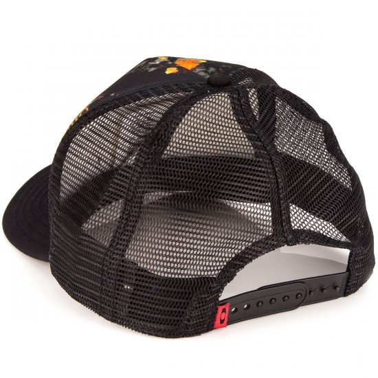 Oakley Graphic Foam Trucker Hat - Flare Orange