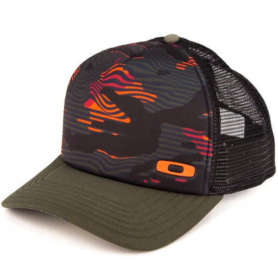 Oakley Graphic Foam Trucker Hat - Jet Black