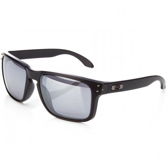 Oakley Holbrook Sunglasses - Black with Black Iridium
