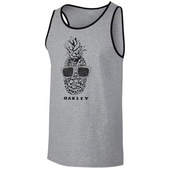 Oakley Pineapple Bottom Tank - Heather Grey