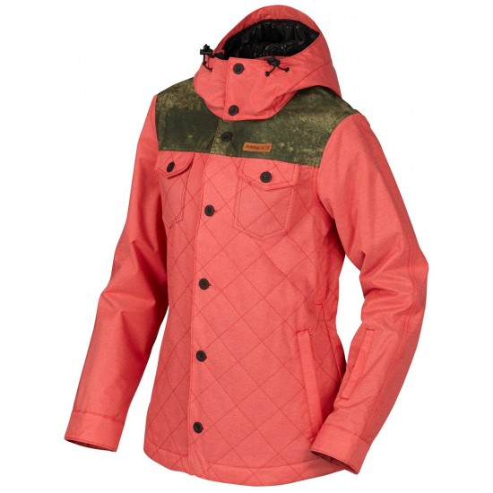 Oakley Spotlight Biozone Insulated Jacket - Red Line