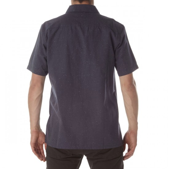 Obey Brighton Woven Shirt - Charcoal