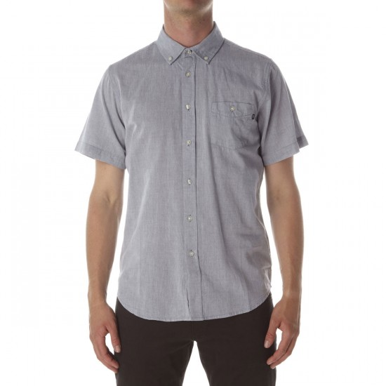 Obey Capital Woven Shirt - Blue