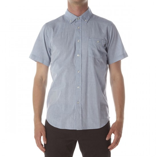 Obey Capital Woven Shirt - Grey