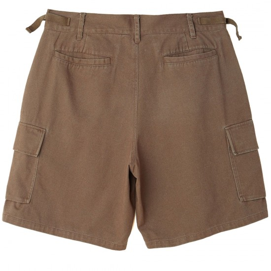 Obey Fubar 90s Cargo Shorts - Light Army