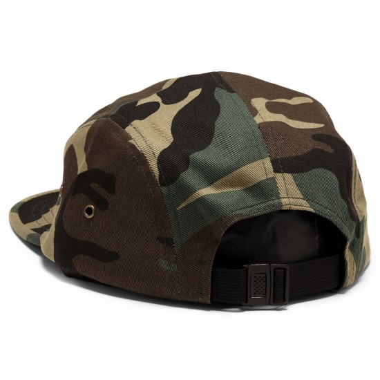 Obey Raid 5 Panel Hat - Field Camo