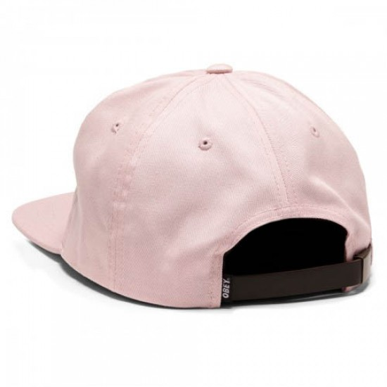 Obey Sickle Hat - Pink