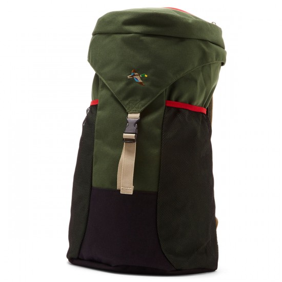 Official Mallard Backpack - Black/Green