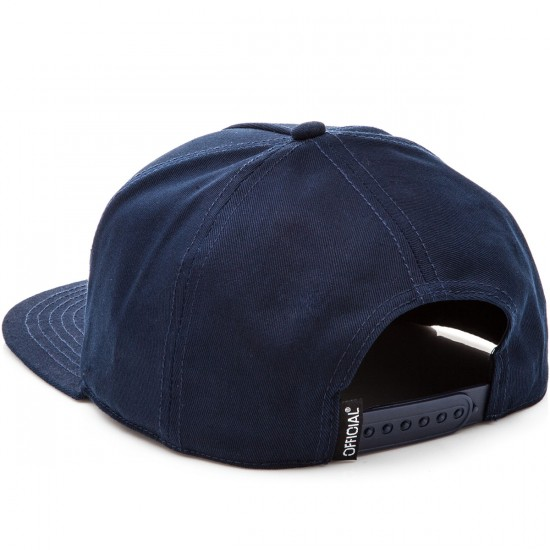 Official SKT Pequenos 5 Panel Snapback Hat - Navy