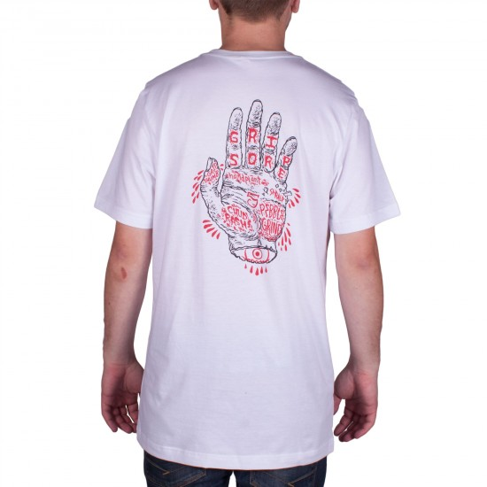 Oh My Skateboards Fortune T-Shirt - White