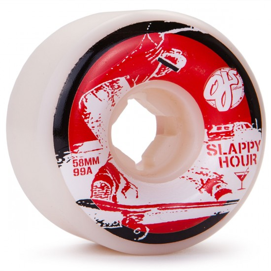 OJ Jason Adams Slappy Hour with Coozie Skateboard Wheels - 58mm - 99a