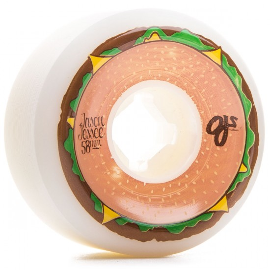 OJ Jessee Cheeseburgers Skateboard Wheels - 58mm 101a