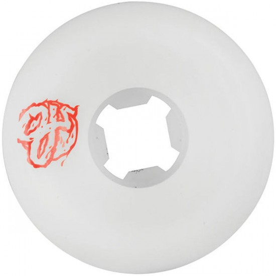 OJ Jessee Rooster Skateboard Wheels - 58mm - White