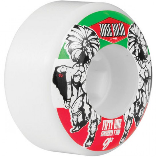 OJ Jose Rojo Pro Skateboard Wheels - 51mm - 101a