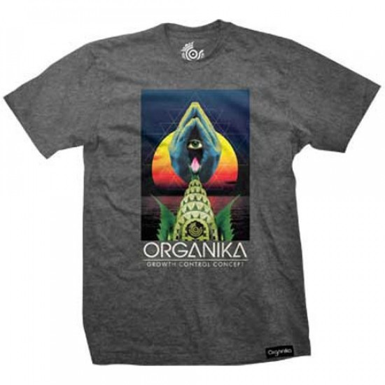 Organika Growth Control T-Shirt - Charcoal Heather