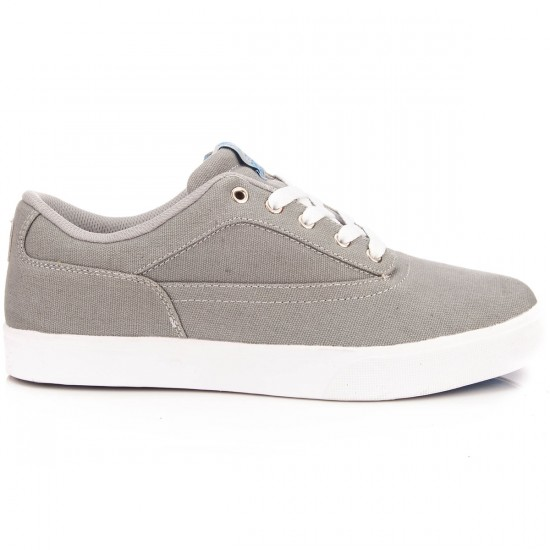 Osiris Caswell VLC Shoes - Grey/Blue/White - 10.0