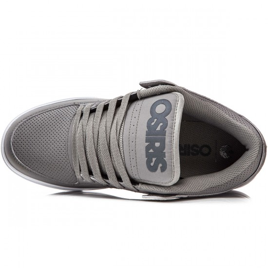 Osiris Protocol Shoes - Grey/White - 8.0