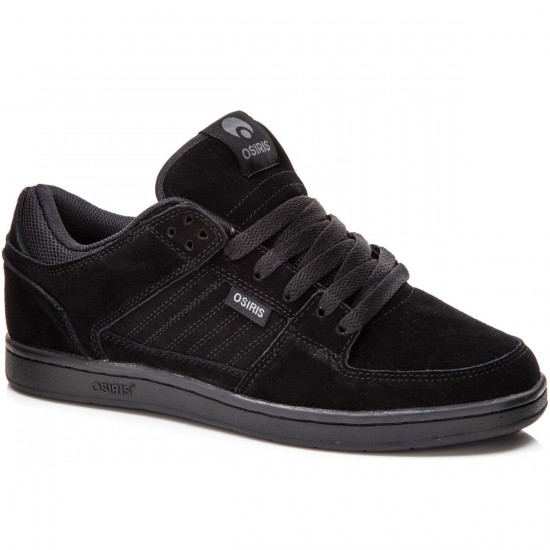 Osiris Protocol SLK Shoes - Black/Black - 8.0