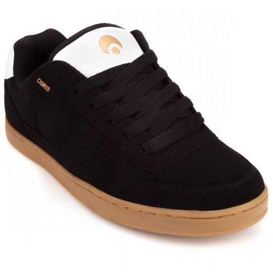Osiris Relic Shoes - Black/White/Gold - 10.0
