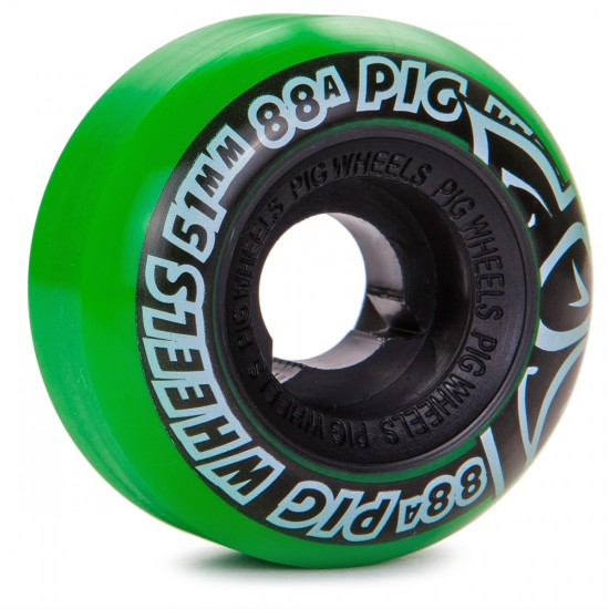 Pig Street Cruisers 2 Skateboard Wheels - 51mm - 88a