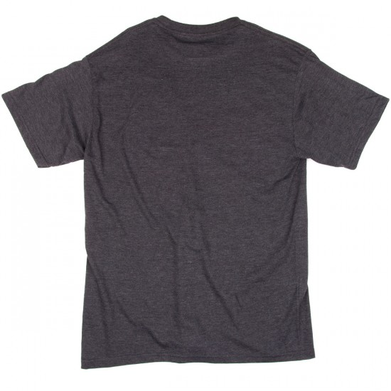 Pig Wheels Pelican T-Shirt - Charcoal