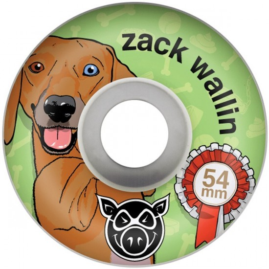 Pig Zach Wallin Wiener Skateboard Wheels - 54mm