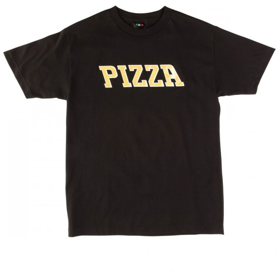 Pizza Pizla T-Shirt - Black