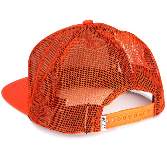 Poler Camp Vibes Trucker Hat - Burnt Orange