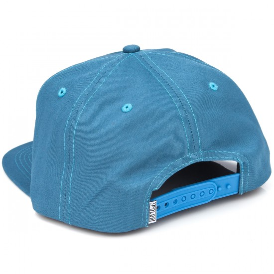 Poler D Patches Snapback Hat - True Blue