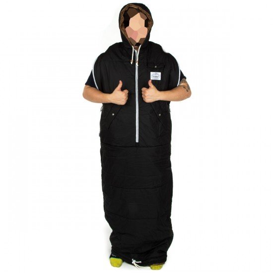 Poler Napsack Wearable Sleeping Bag - Black