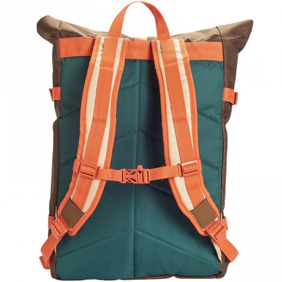 Poler Rolltop Backpack - Beaver/Fern
